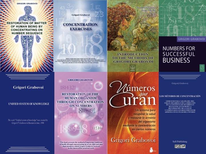 livros de grigori grabovói